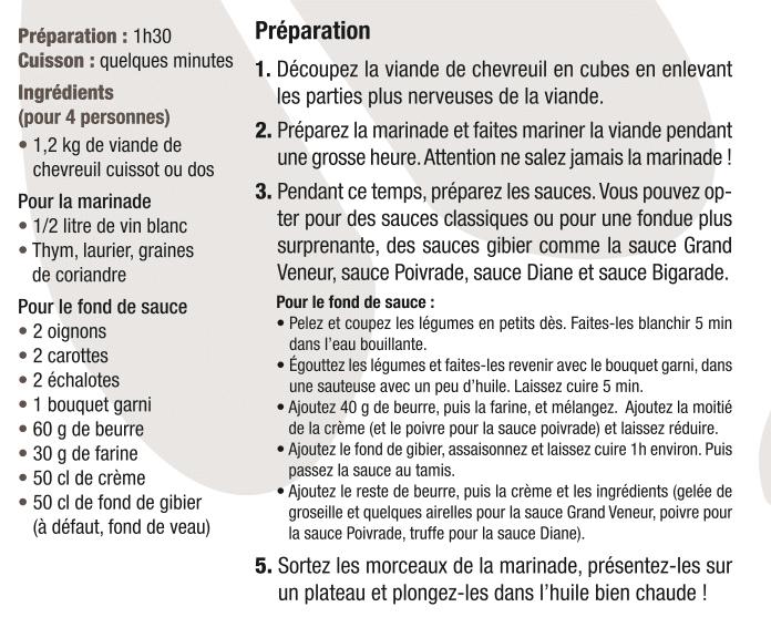 Le blog des boucheries andr partageons le plaisir de bien manger - Cuisiner un cuissot de chevreuil ...