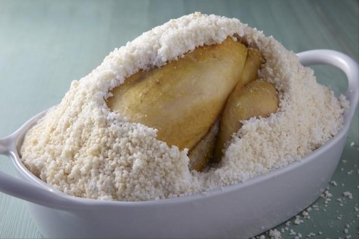 cuisson croute de sel